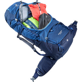 deuter Aircontact 65 + 10 Backpack midnight/navy